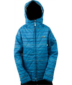 Foursquare Candy Snowboard Jacket Regatta Lil Stripes