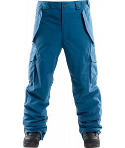 Foursquare Chisel Snowboard Pants Blue Print