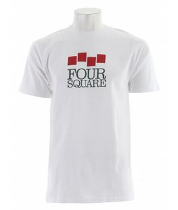Foursquare Classic Stack T-Shirt Mont Blanc
