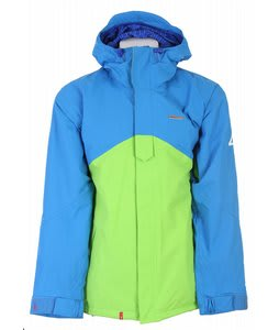 Foursquare Coco Snowboard Jacket Green Light