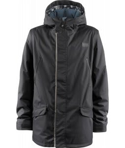 Foursquare Code Snowboard Jacket Blacktop