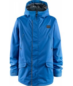 Foursquare Code Snowboard Jacket True Blue