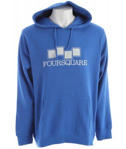 Foursquare Couloir Hoodie True Blue