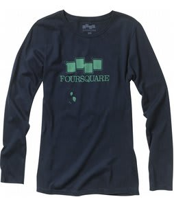 Foursquare Cresent L/S T-Shirt Ink