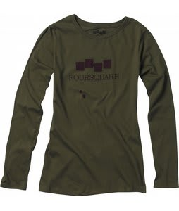Foursquare Cresent L/S T-Shirt Portland Pine