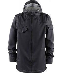Foursquare Crew Snowboard Jacket Blacktop