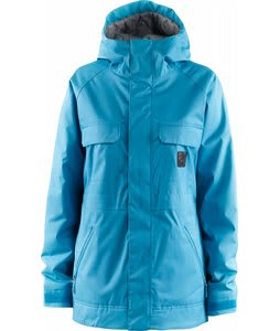 Foursquare Crush Snowboard Jacket Heathered Caribbean