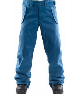Foursquare Draft Snowboard Pants Blue Print