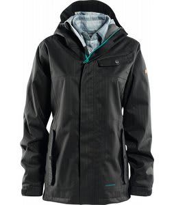 Foursquare Easel Snowboard Jacket Blacktop
