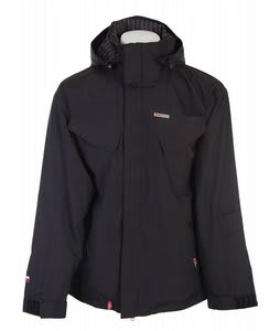 Foursquare Fabian Snowboard Jacket Black