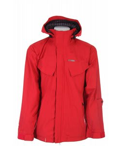 Foursquare Fabian Snowboard Jacket Crimson