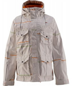 Foursquare Fabian Snowboard Jacket Squared Mont Blanc