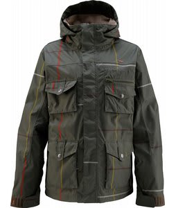 Foursquare Fabian Snowboard Jacket Squared Portland Pine