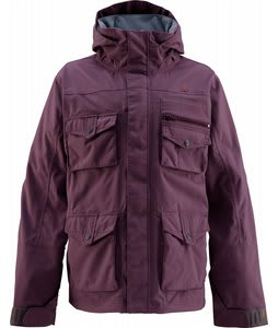 Foursquare Fabian Snowboard Jacket Purple Dawn