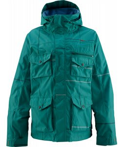 Foursquare Fabian Snowboard Jacket Squared Emerald