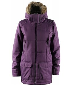 Foursquare Fixture Snowboard Jacket Plum