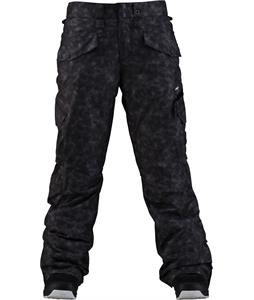 Foursquare Fuji Snowboard Pants Sea Sponge Blackout
