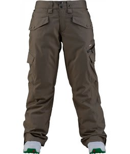 Foursquare Fuji Snowboard Pants Walnut