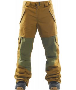 Foursquare Gasket Snowboard Pants Dune/Green Beret