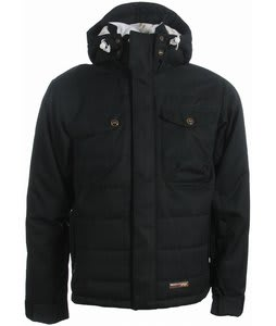 Foursquare Pepe Snowboard Jacket Navy/Blue Pinstripe