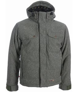 Foursquare Pepe Snowboard Jacket Olive Tweed