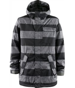 Foursquare Havoc Snowboard Jacket Blacktop Cobain Print