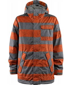Foursquare Havoc Snowboard Jacket Sunset Cobain Print
