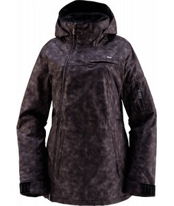Foursquare Hearn Snowboard Jacket Sea Sponge Blackout