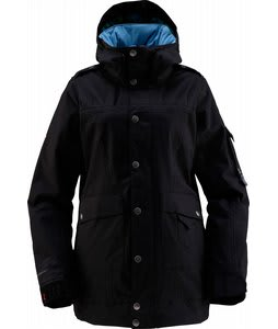 Foursquare Heather Snowboard Jacket Blackout