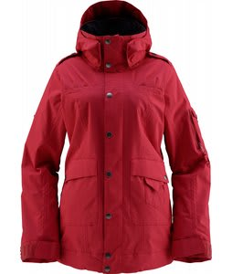 Foursquare Heather Snowboard Jacket Cherry Blossom