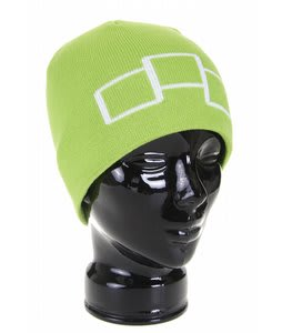 Foursquare Icon Beanie Green Light