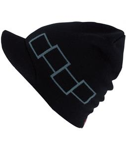 Foursquare Icon Visor Beanie Blackout