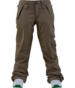 Foursquare Katie Snowboard Pants Walnut