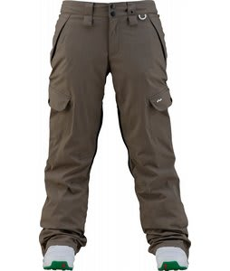 Foursquare Kim Snowboard Pants Walnut