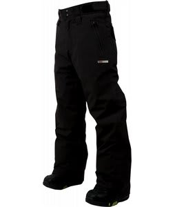 Foursquare Lil Wong Snowboard Pants Black 