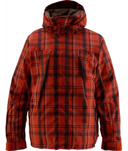 Foursquare Melnik Snowboard Jacket Crossroad Currant