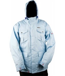 Foursquare Michaylira Jacket Lt Blue Heather