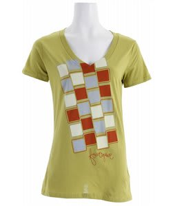 Foursquare Multi Squares T-Shirt Fern