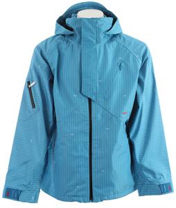 Foursquare Omar Snowboard Jacket Longitude Bluebird