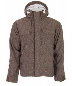Foursquare Pepe Snowboard Jacket Bear Rug Tweed