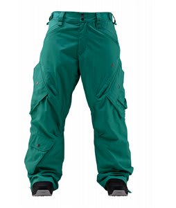 Foursquare Q Snowboard Pants Emerald