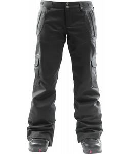 Foursquare Range Snowboard Pants Blacktop