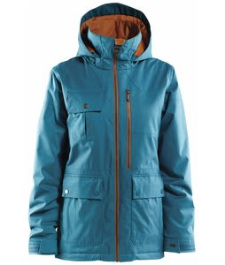 Foursquare Rivet Snowboard Jacket Blue Book