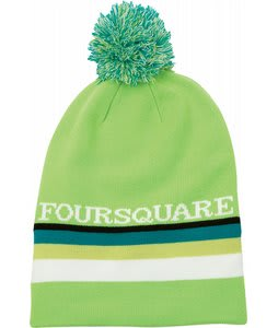 Foursquare Rope Tow Beanie Green Light