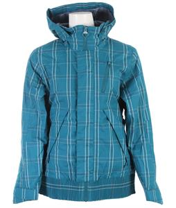 Foursquare Rotary Snowboard Jacket Bluebook Plotter Plaid