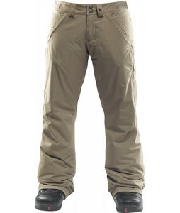 Foursquare Router Snowboard Pants Walnut