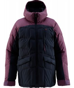 Foursquare Ruff Snowboard Jacket Midnight Blue