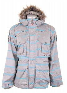 Foursquare S2 Adams Jacket Athl Heather Stripe