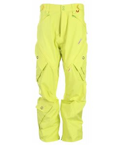 Foursquare Q Snowboard Pants Citron