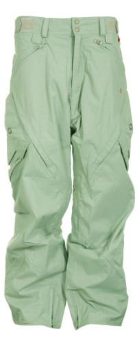 Foursquare S2 Q Snowboard Pants Olivine Leaf Maze